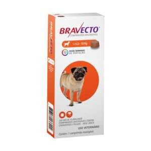 Antipulgas e Carrapatos Bravecto MSD para Caes de 45 a 10 kg