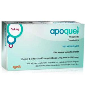 Apoquel Zoetis Dermatologico para Caes 54 mg
