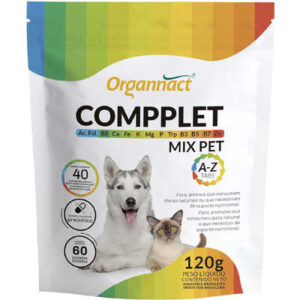 Suplemento Vitaminico Organnact Compplet Mix Pet A Z Tabs