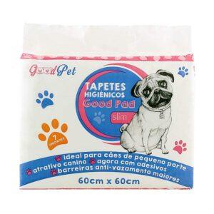 Tapete Higienico Pet Like Good Pads Slim 60x60 para Caes